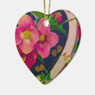 Hearts and Flowers Ornament