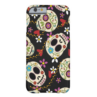 Hearts and Flowers Sugar Skulls iPhone 6 Case
