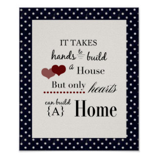 Hearts and Home Poster