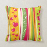 Hearts and Kisses Pillow