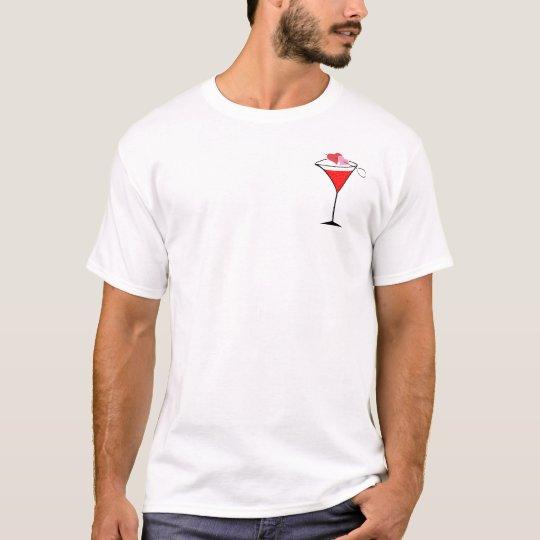 Hearts and Love Martini T-Shirt