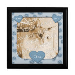 Hearts And Paws Pet Memorial Keepsake Box at Zazzle