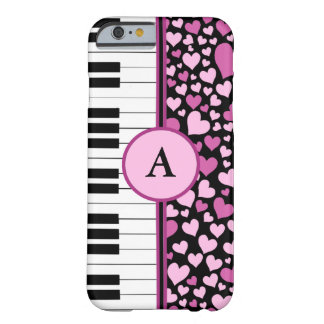 hearts and piano iPhone 6 case