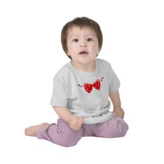 Hearts and Polka Dot Tie T Shirts