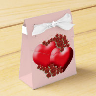 Hearts and Roses Favor Box