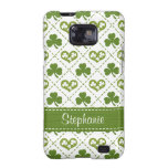 Hearts and Shamrock Samsung Galaxy S Case Galaxy SII Covers