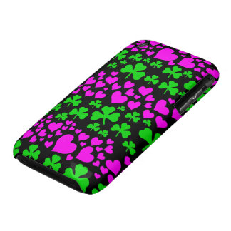 hearts and shamrocks iPhone 3 Case-Mate case