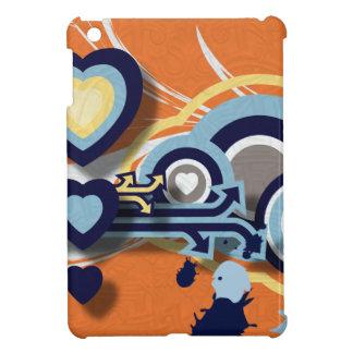 Hearts and Shapes iPad Mini Cover