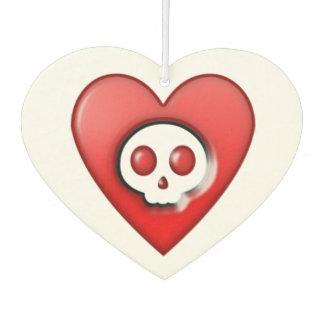 Hearts and Skulls Car Air Freshener