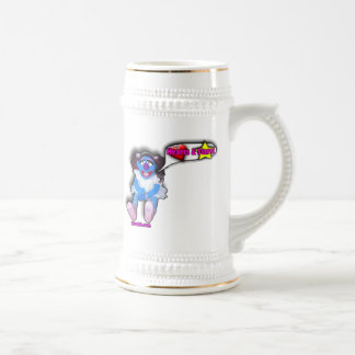 Hearts and Stars Beer Stein