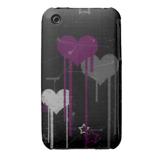 Hearts and Stars iPhone 3G/3Gs barely there case iPhone 3 Case-Mate Cases