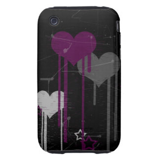 Hearts and Stars iPhone 3G/3Gs tough case Tough iPhone 3 Cover