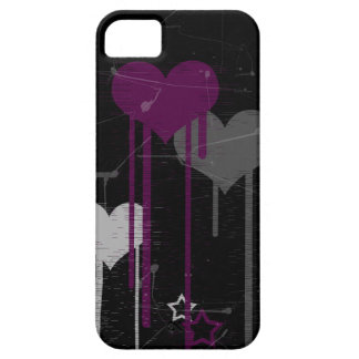 Hearts and Stars iPhone 5 Barely There case iPhone 5 Cases