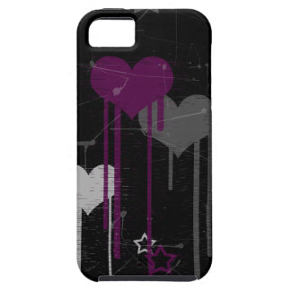 Hearts and Stars iPhone 5 Vibe case iPhone 5 Covers