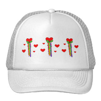 Hearts and Streamers Trucker Hat