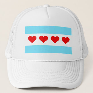 Hearts and Stripes Forever Trucker Hat