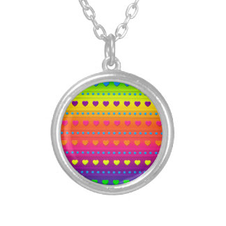 Hearts and Stripes NECKLACE