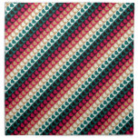 Hearts and Stripes Printed Napkin