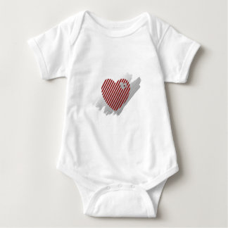 Hearts and Stripes Tots T-shirts