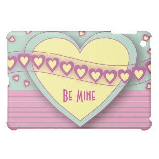 Hearts and Stripes Valentine  iPad Mini Covers