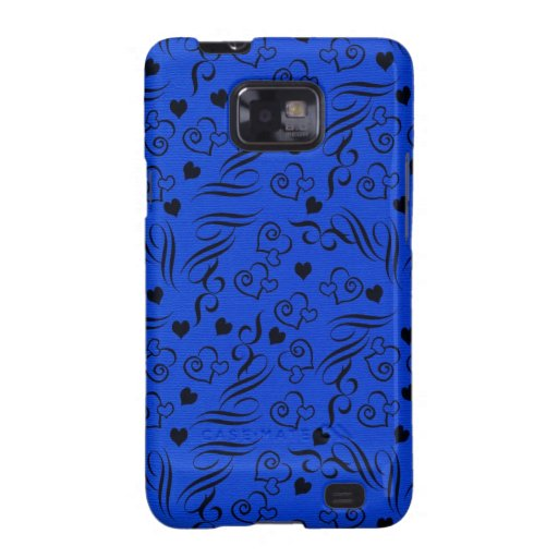 Hearts and Swirls Samsung Galaxy Cases