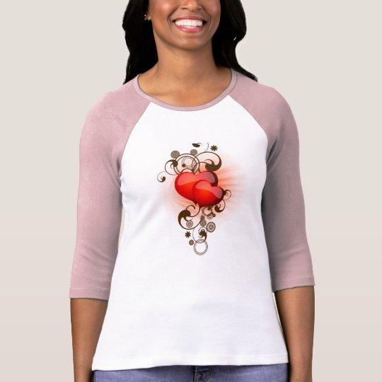 Hearts-and-Swirls T-Shirt