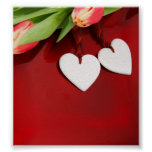 Hearts and Tulips Print