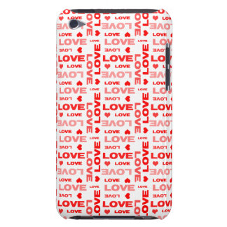 Hearts and Words of Love iPod Touch Case