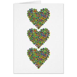 Hearts Aplenty notecards Card