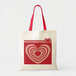 Hearts a'plenty tote budget tote bag