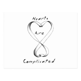 Hearts Are Complicated Postcard