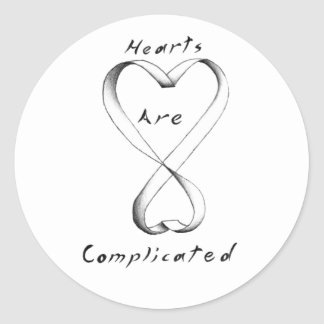 Hearts Are Complicated sticker