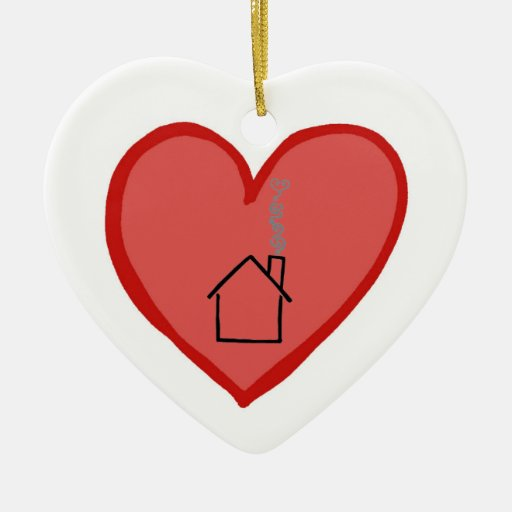 Hearts are Stronger Than Houses Christmas Ornaments