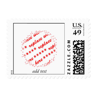 Hearts Around Your Photo Template Stamp