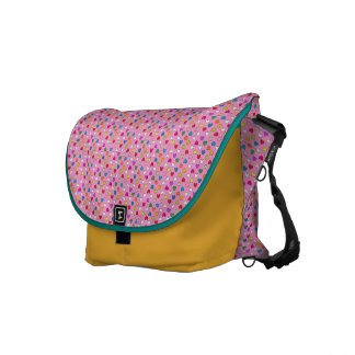 Hearts Bag Cupcake Messenger Bag