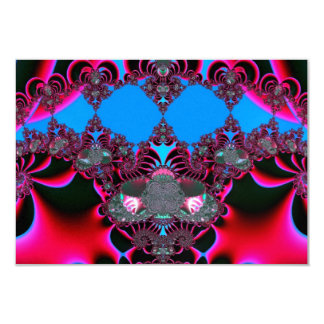 Hearts Ballet Curtain Call Fractal Card
