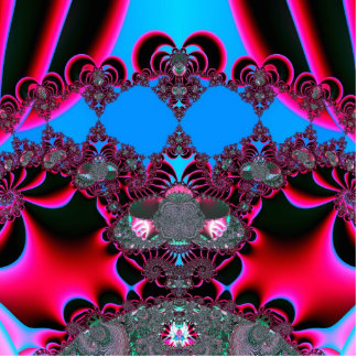 Hearts Ballet Curtain Call Fractal Statuette