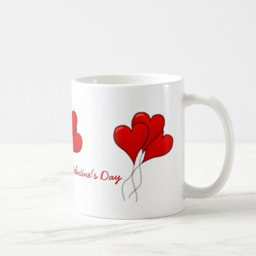 Hearts Balloons Mug