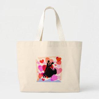 Hearts ballroom dancing bags