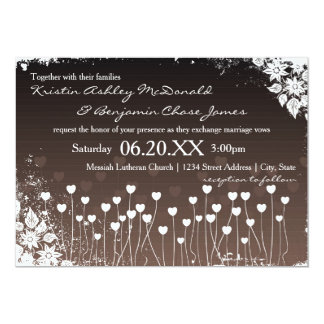 Hearts Bloom - Wedding Invitation