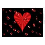 Hearts & Bubbles (Black) Cards