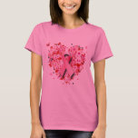 HEARTS, BUTTERFLIES AND PINK RIBBON T-Shirt