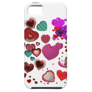 Hearts by the Pound iPhone 5 Case
