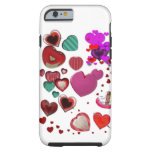 Hearts by the Pound iPhone 6 Case