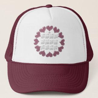 Hearts Calendar Gifts Trucker Hat