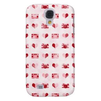 Hearts Cameras Samsung Galaxy S4 Case