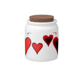 Hearts Candy Dish