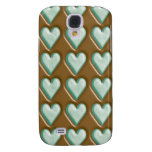 Hearts - Chocolate Mint Samsung Galaxy S4 Covers