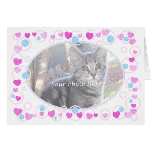 Hearts & Circles Card