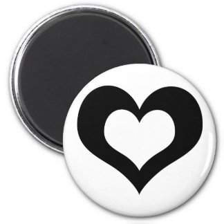 Heart's Collection 2 Inch Round Magnet